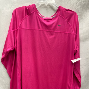 Primary Photo - BRAND: NIKE APPAREL STYLE: ATHLETIC TOP COLOR: PINK SIZE: 3X SKU: 193-193138-6624