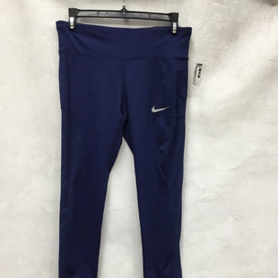 Primary Photo - BRAND: NIKE APPAREL STYLE: ATHLETIC CAPRIS COLOR: BLUE SIZE: M SKU: 193-193140-2126