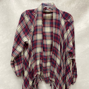 Primary Photo - BRAND: ALTARD STATE STYLE: SWEATER CARDIGAN LIGHTWEIGHT COLOR: PLAID SIZE: L SKU: 193-193138-7379