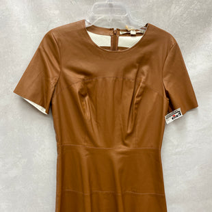 Primary Photo - BRAND: CHELSEA AND VIOLET STYLE: DRESS SHORT SHORT SLEEVE COLOR: BROWN SIZE: M SKU: 193-193125-3890
