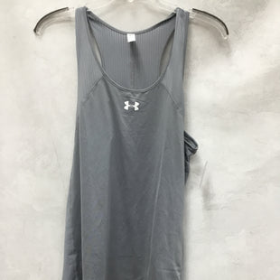Primary Photo - BRAND: UNDER ARMOUR STYLE: ATHLETIC TANK TOP COLOR: GREY SIZE: M SKU: 193-193113-8855