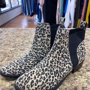Primary Photo - BRAND: DOLCE VITA STYLE: BOOTS ANKLE COLOR: ANIMAL PRINT SIZE: 7.5 SKU: 193-193135-9865