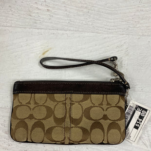 Primary Photo - BRAND: COACH STYLE: WRISTLET COLOR: BROWN SKU: 193-19357-42956