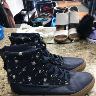 Primary Photo - BRAND: VANS STYLE: BOOTS ANKLE COLOR: NAVY SIZE: 9 SKU: 193-19357-55863