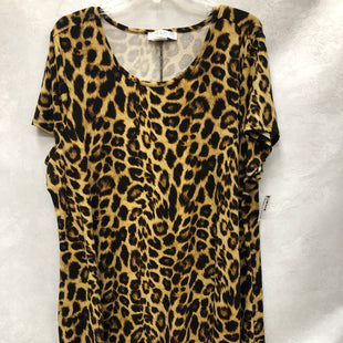 Primary Photo - BRAND:    CLOTHES MENTOR STYLE: DRESS SHORT SHORT SLEEVE COLOR: ANIMAL PRINT SIZE: 2X OTHER INFO: JAMIE AND LAYLA - SKU: 193-193135-10154