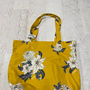 Primary Photo - BRAND:    CLOTHES MENTOR STYLE: HANDBAG COLOR: YELLOW SIZE: LARGE SKU: 193-193140-2072