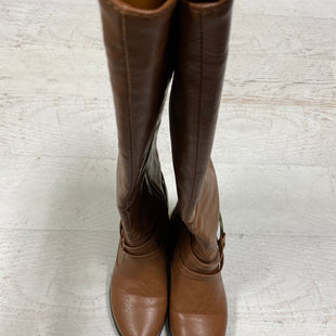 Primary Photo - BRAND:    CLOTHES MENTOR STYLE: BOOTS KNEE COLOR: TAN SIZE: 7.5 SKU: 193-19357-52914
