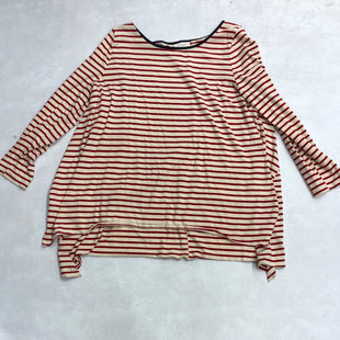 Primary Photo - BRAND: UMGEE STYLE: TOP LONG SLEEVE COLOR: RED SIZE: 2X SKU: 193-193125-1493