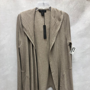 Primary Photo - BRAND: TAHARI STYLE: SWEATER CARDIGAN LIGHTWEIGHT COLOR: TAUPE SIZE: L OTHER INFO: NEW! SKU: 193-193135-10125