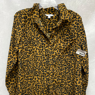 Primary Photo - BRAND: TIME AND TRU STYLE: TOP LONG SLEEVE COLOR: ANIMAL PRINT SIZE: M OTHER INFO: NEW! SKU: 193-193113-7924