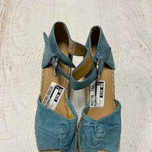 Primary Photo - BRAND: MARC FISHER STYLE: SANDALS LOW COLOR: BLUE SIZE: 9.5 SKU: 193-193138-4313