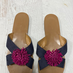 Primary Photo - BRAND: J CREW STYLE: SHOES FLATS COLOR: NAVY SIZE: 9 SKU: 193-193153-189