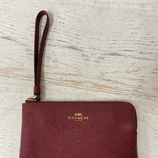 Primary Photo - BRAND: COACH STYLE: WRISTLET COLOR: RED SKU: 193-193135-9209