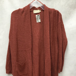 Primary Photo - BRAND: DREAMERS STYLE: SWEATER CARDIGAN LIGHTWEIGHT COLOR: RUST SIZE: S SKU: 193-193106-18678