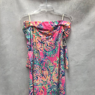 Primary Photo - BRAND: LILLY PULITZER STYLE: DRESS SHORT LONG SLEEVE COLOR: PINK SIZE: S SKU: 194-194167-34740
