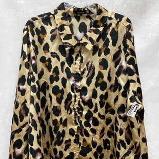 Primary Photo - BRAND: BOOHOO BOUTIQUE STYLE: TOP LONG SLEEVE COLOR: ANIMAL PRINT SIZE: 2X SKU: 193-193138-8115