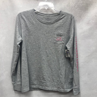 Primary Photo - BRAND: VINEYARD VINES STYLE: TOP LONG SLEEVE BASIC COLOR: GREY SIZE: M SKU: 193-19357-58513
