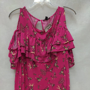 Primary Photo - BRAND: LANE BRYANT STYLE: TOP SHORT SLEEVE COLOR: HOT PINK SIZE: 18 SKU: 193-193135-10496