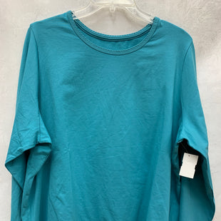 Primary Photo - BRAND: LANDS END STYLE: TOP LONG SLEEVE BASIC COLOR: BLUE SIZE: 2X SKU: 193-193113-7627