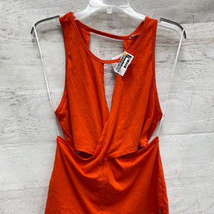 Primary Photo - BRAND: FABLETICS STYLE: ATHLETIC TANK TOP COLOR: ORANGE SIZE: L SKU: 193-193143-2123
