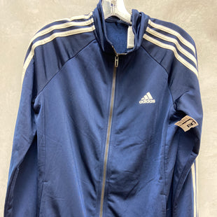 Primary Photo - BRAND: ADIDAS STYLE: ATHLETIC JACKET COLOR: NAVY SIZE: M OTHER INFO: NEW! SKU: 193-193135-10339