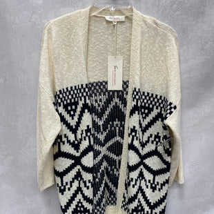 Primary Photo - BRAND: VINCE CAMUTO STYLE: SWEATER CARDIGAN LIGHTWEIGHT COLOR: BLACK WHITE SIZE: S SKU: 193-193138-7685
