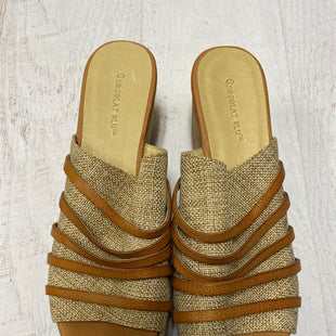 Primary Photo - BRAND:    CLOTHES MENTOR STYLE: SANDALS LOW COLOR: TAN SIZE: 9 OTHER INFO: CHOCOLAT BLU - SKU: 193-193138-4329