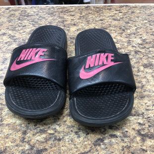 Primary Photo - BRAND: NIKE STYLE: SANDALS FLAT COLOR: BLACK SIZE: 8 SKU: 193-193155-140