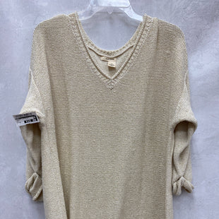 Primary Photo - BRAND: DKNY STYLE: SWEATER LIGHTWEIGHT COLOR: CREAM SIZE: 2X SKU: 193-193138-8103