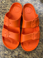 Primary Photo - BRAND:    CLOTHES MENTOR <BR>STYLE: SHOES FLATS <BR>COLOR: ORANGE <BR>SIZE: 8 <BR>SKU: 193-19357-58977