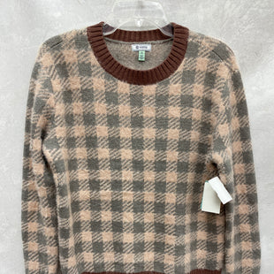 Primary Photo - BRAND: SUSINA STYLE: SWEATER LIGHTWEIGHT COLOR: PLAID SIZE: XS SKU: 193-19357-55694