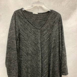 Primary Photo - BRAND: AVA JAMES STYLE: TOP LONG SLEEVE BASIC COLOR: GREY SIZE: 2X SKU: 193-193113-7653