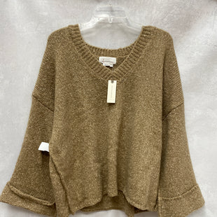 Primary Photo - BRAND: ANTHROPOLOGIE STYLE: SWEATER LIGHTWEIGHT COLOR: TAN SIZE: M SKU: 193-193138-8158