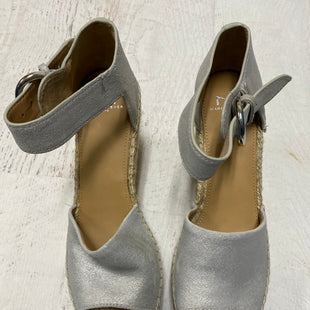 Primary Photo - BRAND: MARC FISHER STYLE: SANDALS LOW COLOR: SILVER SIZE: 9.5 SKU: 193-193138-4314