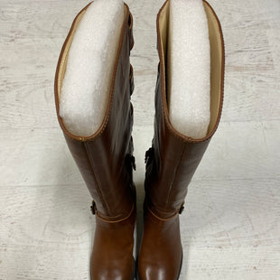 Primary Photo - BRAND: SOLE SOCIETY STYLE: BOOTS KNEE COLOR: TAN SIZE: 7 SKU: 193-193106-18778