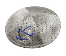 Load image into Gallery viewer, Klipped Kippah® - Gray Mesh