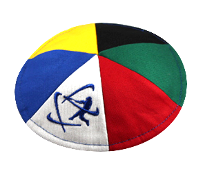 Cotton 6 panel - 2020 Mulit-color Klipped Kippah®
