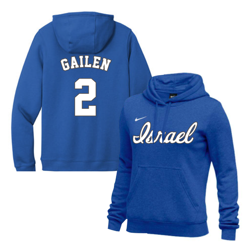 Women's Blake Gailen Name and Number NIKE® Hoodie - Blue, White