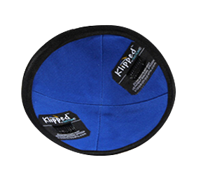 Klipped Kippah® - Gray Mesh