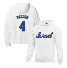 Load image into Gallery viewer, Men's Rob Paller Name and Number NIKE® Hoodie - Blue, White