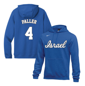 Men's Rob Paller Name and Number NIKE® Hoodie - Blue, White