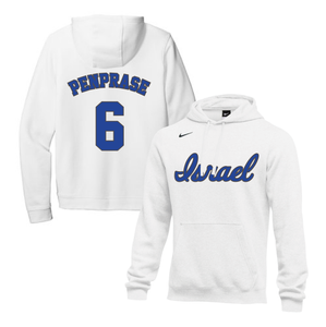 Youth Zach Penprase Name and Number NIKE® Hoodie - Blue, White