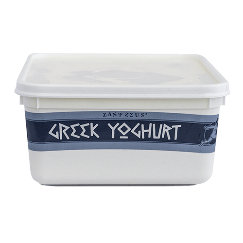 Zany Zeus Greek Yoghurt 1kg Tub