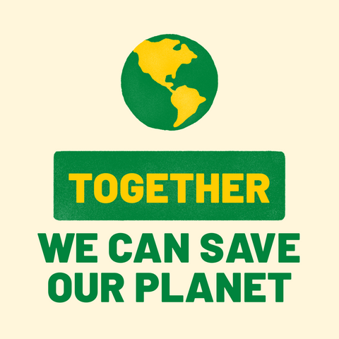 Together we can save our planert