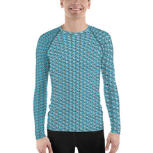 Load image into Gallery viewer, Pyramids and shooting stars Men's Rash Guard
