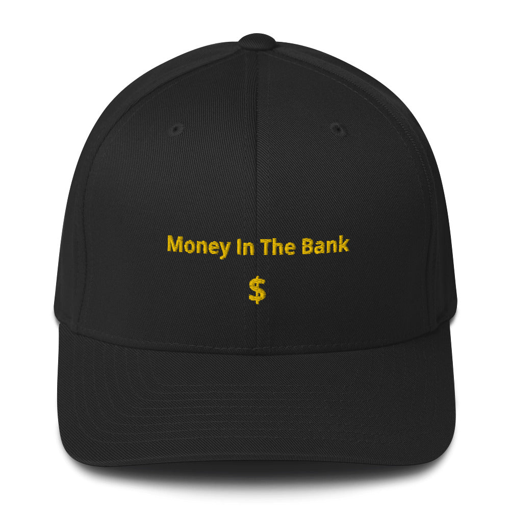 Embroidered Money In The Bank Cap - 25% discount at check-out!