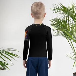 Kids Rash Guard Long Sleeve