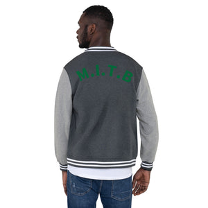 M.I.T.B. Men's Letterman Jacket 25/10 25% discount and 10% charitable contribution