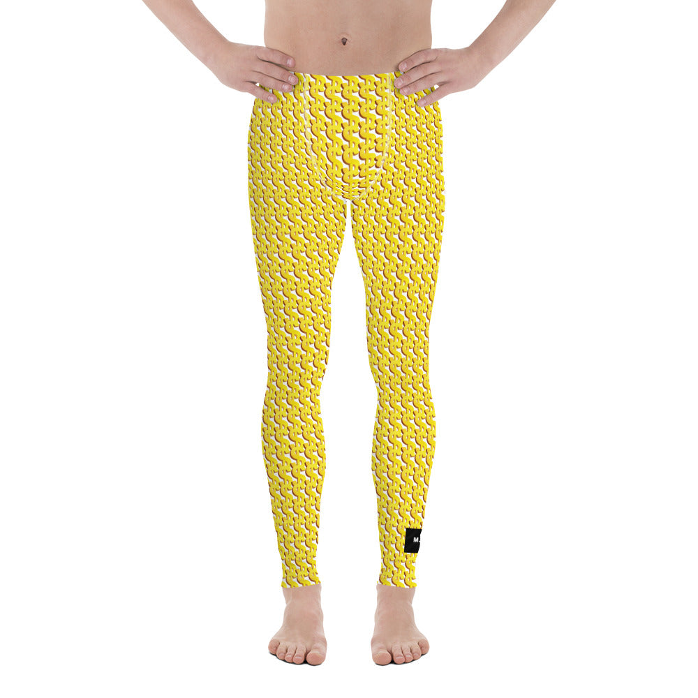 Money Leggings for men! (25/10) 25% discount 10% to charity!