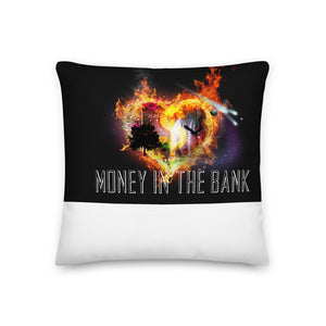 Money In The Bank Pillow - 25/10 25% discount and a 10% donation to charity